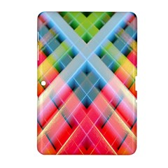 Graphics Colorful Colors Wallpaper Graphic Design Samsung Galaxy Tab 2 (10.1 ) P5100 Hardshell Case