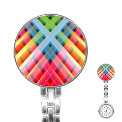 Graphics Colorful Colors Wallpaper Graphic Design Stainless Steel Nurses Watch