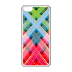 Graphics Colorful Colors Wallpaper Graphic Design Apple iPhone 5C Seamless Case (White)