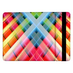 Graphics Colorful Colors Wallpaper Graphic Design Samsung Galaxy Tab Pro 12 2  Flip Case