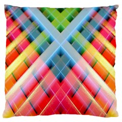 Graphics Colorful Colors Wallpaper Graphic Design Large Flano Cushion Case (one Side)