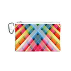 Graphics Colorful Colors Wallpaper Graphic Design Canvas Cosmetic Bag (s)
