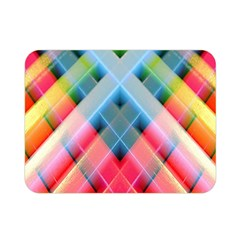 Graphics Colorful Colors Wallpaper Graphic Design Double Sided Flano Blanket (mini)