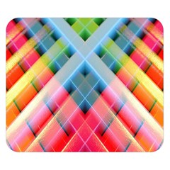 Graphics Colorful Colors Wallpaper Graphic Design Double Sided Flano Blanket (small)