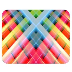 Graphics Colorful Colors Wallpaper Graphic Design Double Sided Flano Blanket (medium)