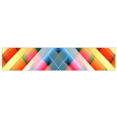 Graphics Colorful Colors Wallpaper Graphic Design Flano Scarf (small)
