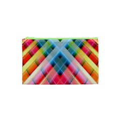 Graphics Colorful Colors Wallpaper Graphic Design Cosmetic Bag (xs)