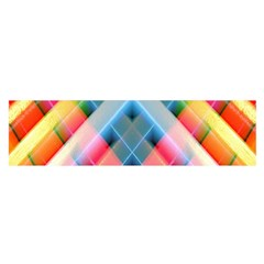 Graphics Colorful Colors Wallpaper Graphic Design Satin Scarf (Oblong)