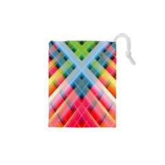 Graphics Colorful Colors Wallpaper Graphic Design Drawstring Pouches (xs)