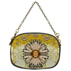 Power To The Big Flower Chain Purses (one Side)