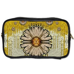 Power To The Big Flower Toiletries Bags