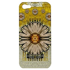 Power To The Big Flower Apple Iphone 5 Hardshell Case