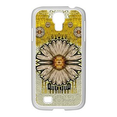 Power To The Big Flower Samsung GALAXY S4 I9500/ I9505 Case (White)