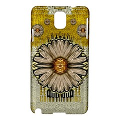 Power To The Big Flower Samsung Galaxy Note 3 N9005 Hardshell Case