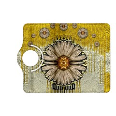 Power To The Big Flower Kindle Fire Hd (2013) Flip 360 Case