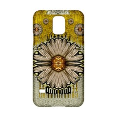Power To The Big Flower Samsung Galaxy S5 Hardshell Case
