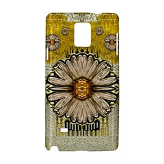 Power To The Big Flower Samsung Galaxy Note 4 Hardshell Case