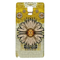Power To The Big Flower Galaxy Note 4 Back Case