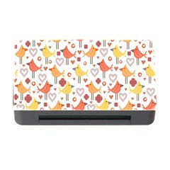 Animal Pattern Happy Birds Seamless Pattern Memory Card Reader With Cf