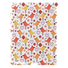 Animal Pattern Happy Birds Seamless Pattern Apple iPad 3/4 Hardshell Case (Compatible with Smart Cover)