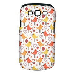 Animal Pattern Happy Birds Seamless Pattern Samsung Galaxy S Iii Classic Hardshell Case (pc+silicone)