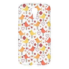 Animal Pattern Happy Birds Seamless Pattern Samsung Galaxy S4 I9500/i9505 Hardshell Case