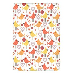 Animal Pattern Happy Birds Seamless Pattern Flap Covers (s)