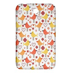 Animal Pattern Happy Birds Seamless Pattern Samsung Galaxy Tab 3 (7 ) P3200 Hardshell Case