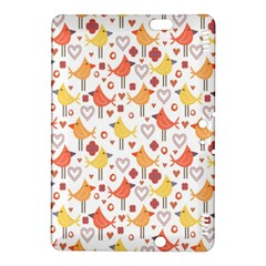 Animal Pattern Happy Birds Seamless Pattern Kindle Fire Hdx 8 9  Hardshell Case