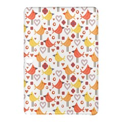 Animal Pattern Happy Birds Seamless Pattern Samsung Galaxy Tab Pro 10 1 Hardshell Case
