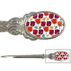 Tree Pattern Background Letter Openers