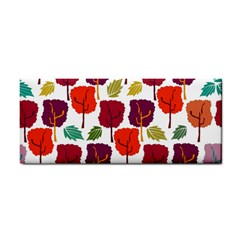 Tree Pattern Background Cosmetic Storage Cases