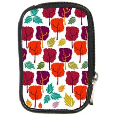 Tree Pattern Background Compact Camera Cases