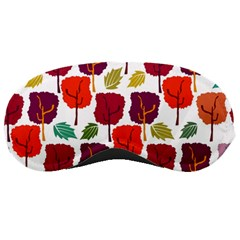 Tree Pattern Background Sleeping Masks