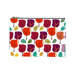 Tree Pattern Background Cosmetic Bag (Large)