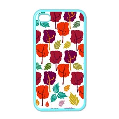 Tree Pattern Background Apple iPhone 4 Case (Color)