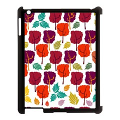 Tree Pattern Background Apple Ipad 3/4 Case (black)