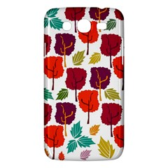 Tree Pattern Background Samsung Galaxy Mega 5 8 I9152 Hardshell Case
