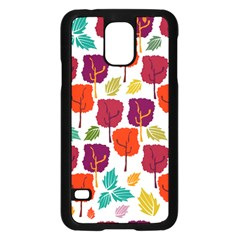 Tree Pattern Background Samsung Galaxy S5 Case (black)