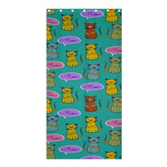 Meow Cat Pattern Shower Curtain 36  X 72  (stall)