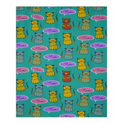 Meow Cat Pattern Shower Curtain 60  X 72  (medium)