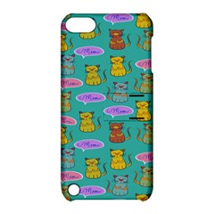 Meow Cat Pattern Apple Ipod Touch 5 Hardshell Case With Stand