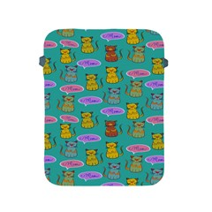 Meow Cat Pattern Apple Ipad 2/3/4 Protective Soft Cases