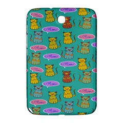 Meow Cat Pattern Samsung Galaxy Note 8 0 N5100 Hardshell Case