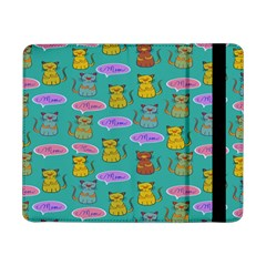 Meow Cat Pattern Samsung Galaxy Tab Pro 8 4  Flip Case