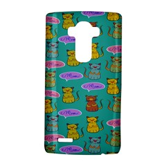 Meow Cat Pattern Lg G4 Hardshell Case