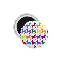 Colorful Horse Background Wallpaper 1.75  Magnets