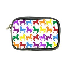 Colorful Horse Background Wallpaper Coin Purse