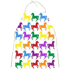 Colorful Horse Background Wallpaper Full Print Aprons