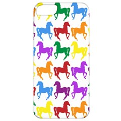 Colorful Horse Background Wallpaper Apple Iphone 5 Classic Hardshell Case